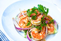 Spicy Garlic and Pepper Prawns-4348