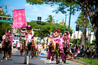 2013 Aloha Festivalʻs Parade in Honolulu, Hawaii
